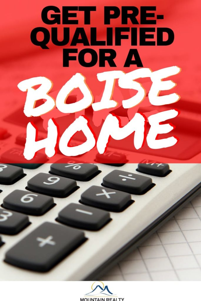 Get Pre-Qualified For Boise Home